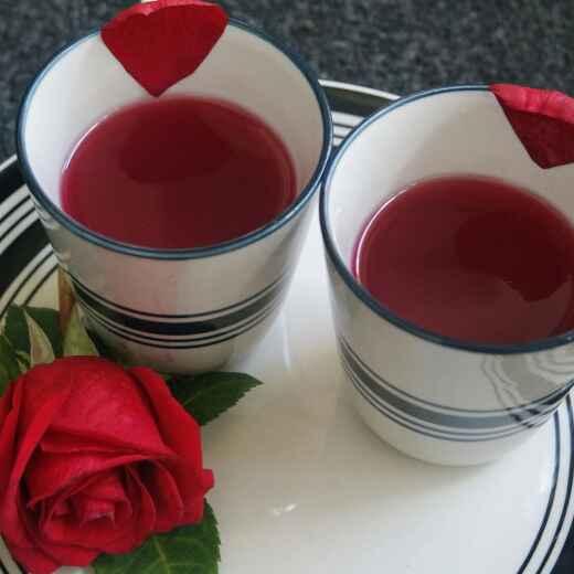 How to make Rose Honey Tea!