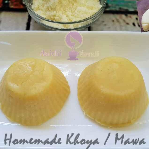 Photo of Instant Homemade Khoya / Mawa by Dr.Shubhangi Kumbhar at BetterButter