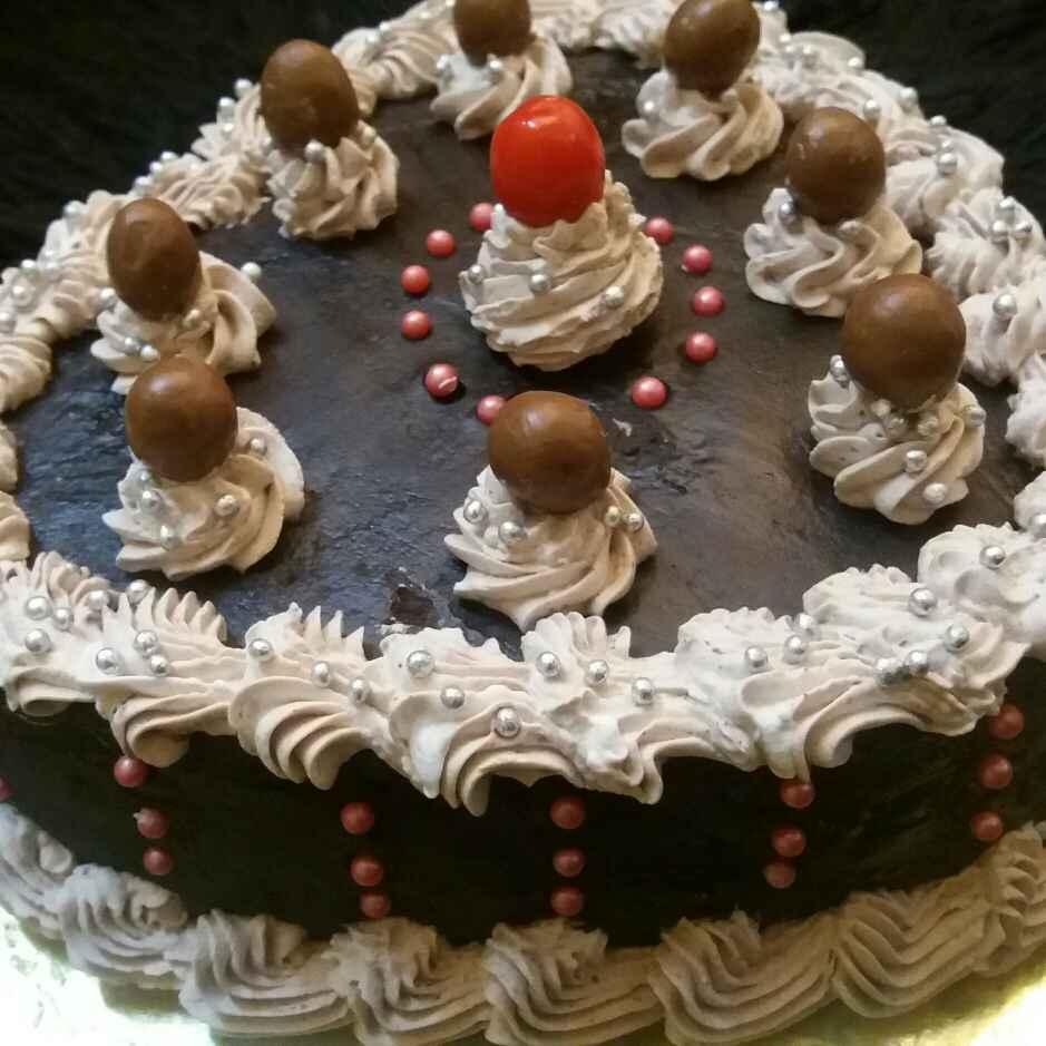 How to make Wallnut Chocolate Cream Cake
