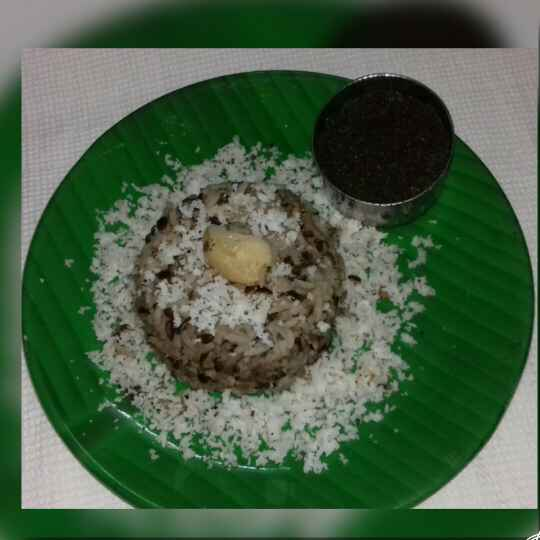 Photo of Black gram rice with seesame powder by shunmuga sundari at BetterButter