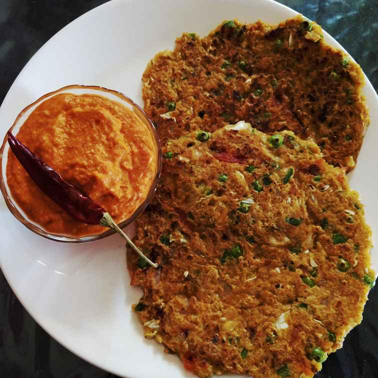 Photo of Oats pancakes or uttapam by VIDHI AGARWAL at BetterButter