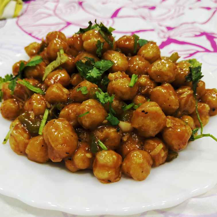 How to make Chana chilli
