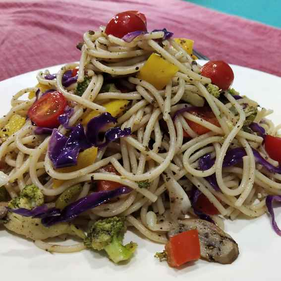 Photo of Spaghetti salad by VIDHI AGARWAL at BetterButter
