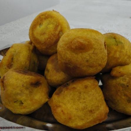 How to make Batata Vada (Potato Fritters)