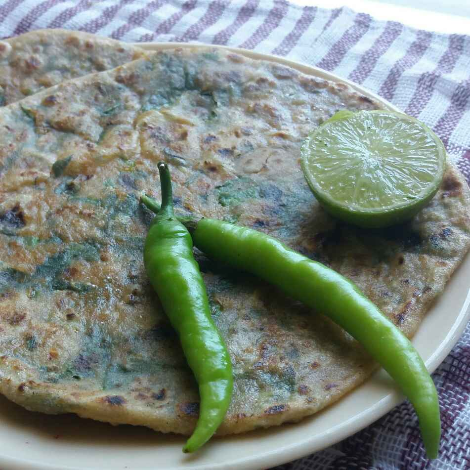 Photo of All Green Oats Paratha by Shyama Amit at BetterButter