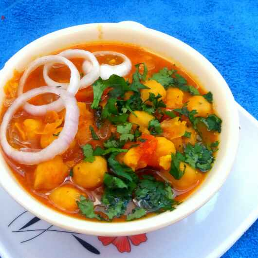 How to make Oil Free Chole