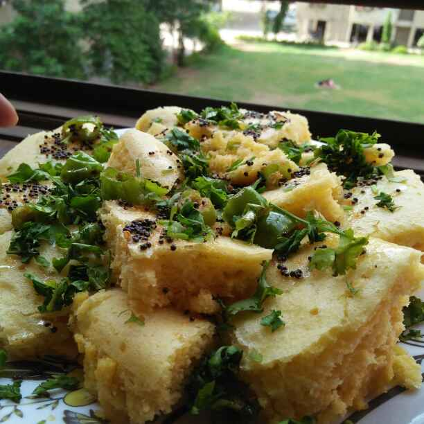 How to make Gujrati dhokla