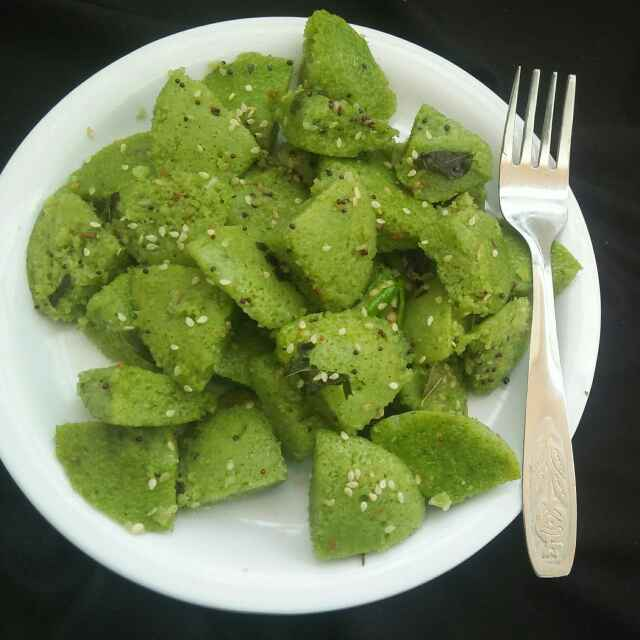 Photo of Hara bhara dhokla by shyama thanvi at BetterButter