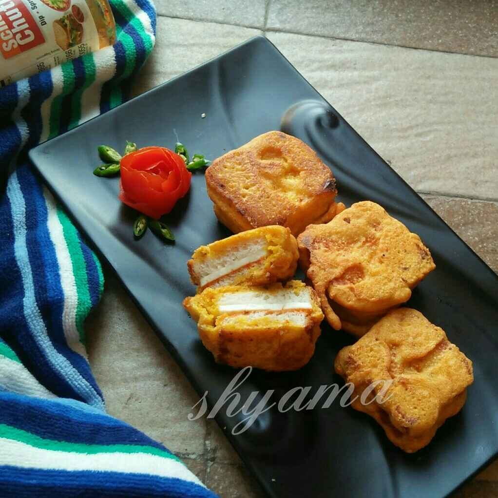Photo of Schezwan paneer squares by shyama thanvi at BetterButter