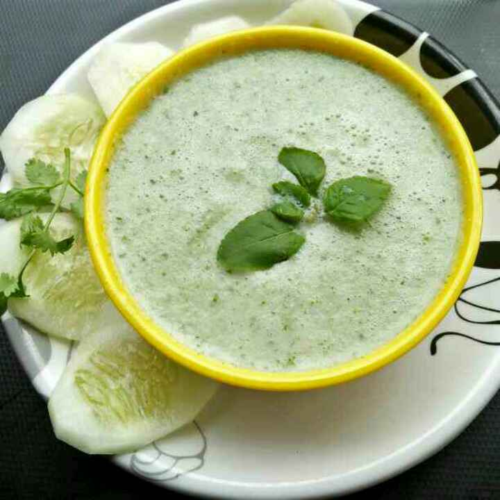 Photo of Cold cucumber soup by Shyama Amit at BetterButter