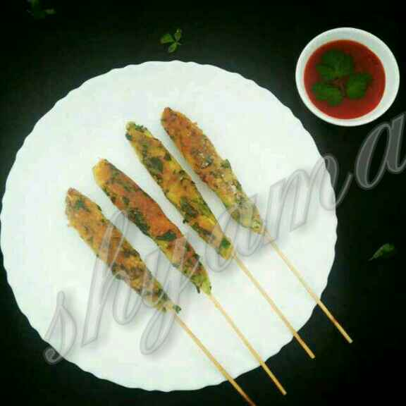 Photo of Aloo methi seekh kabab by Shyama Amit at BetterButter