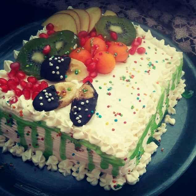 Photo of Fresh fruit cake by shyama thanvi at BetterButter