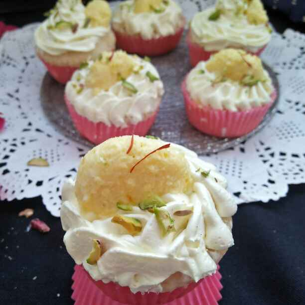 Photo of Rasmalai cupcake by Shyama Amit at BetterButter