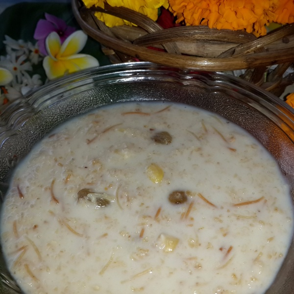 Photo of Oats Semiya Kheer (Payasam) by Shyamala Kumar at BetterButter