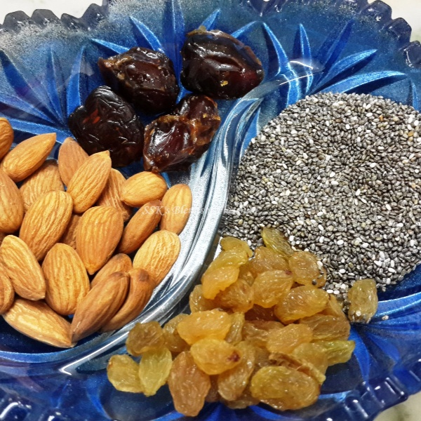How to make Almond Chia Seeds Laddu
