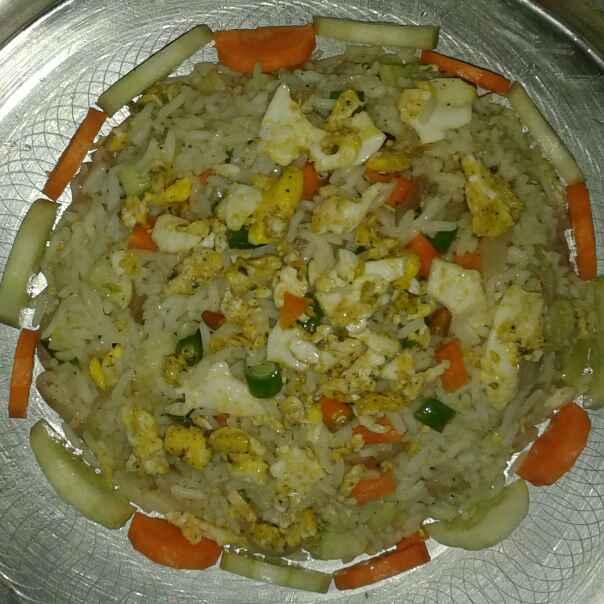 Photo of Egg Fried Rice by Shyamali Mukherjee at BetterButter