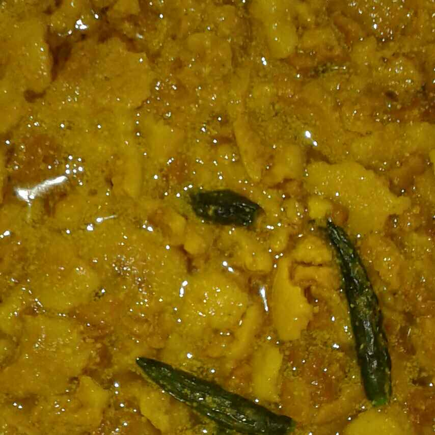Photo of Bori in mustard paste by Shyamali Mukherjee at BetterButter