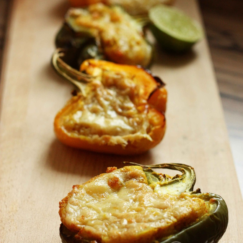Photo of Spicy Potato Stuffed Bell Peppers by Sia Krishna at BetterButter