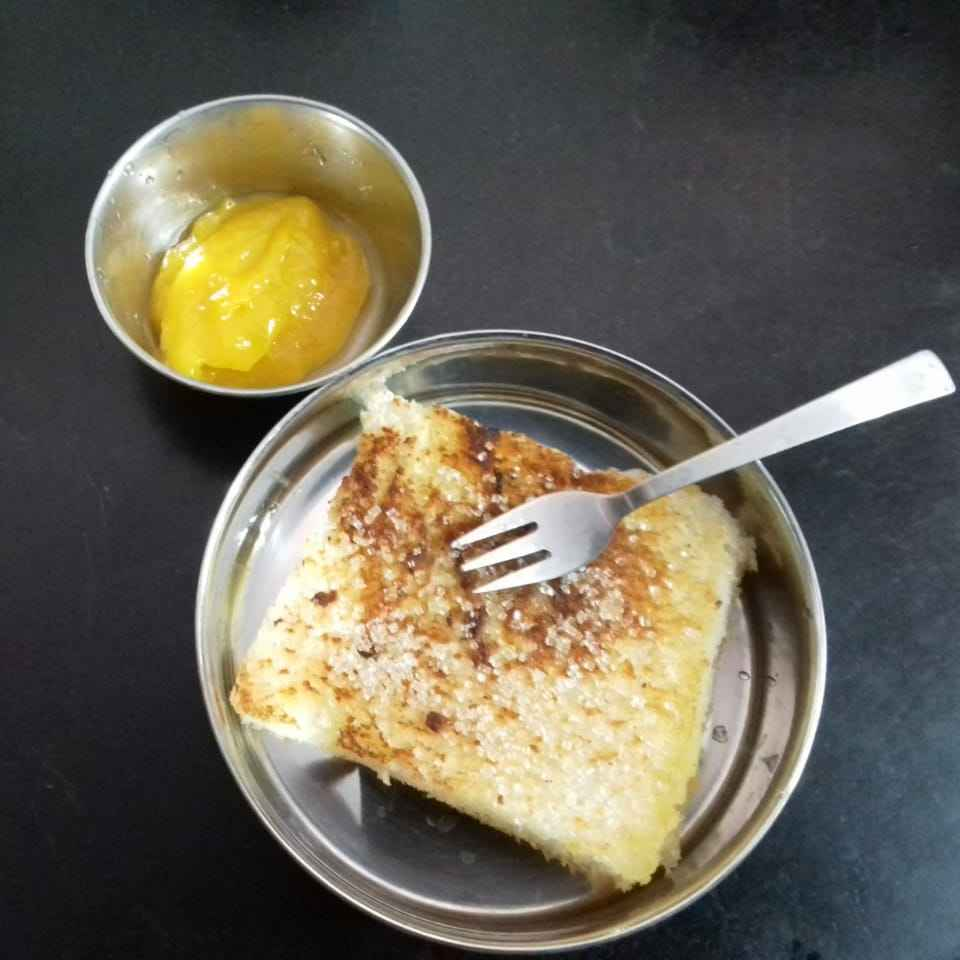 Photo of Mango sauce with cinnamon bread by Sibiya  at BetterButter