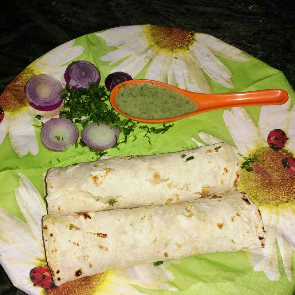 How to make Vej kabab roll