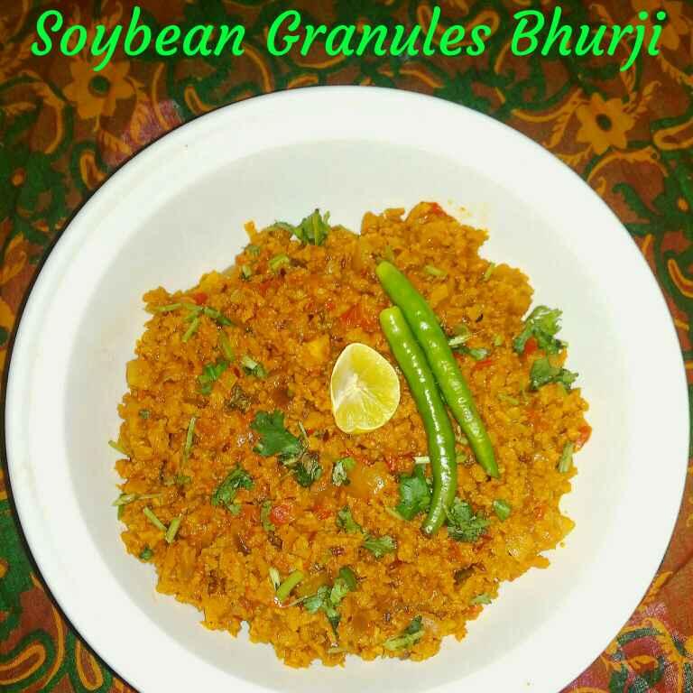 Photo of Soyabean Granules Bhurji by Simmi Raj at BetterButter
