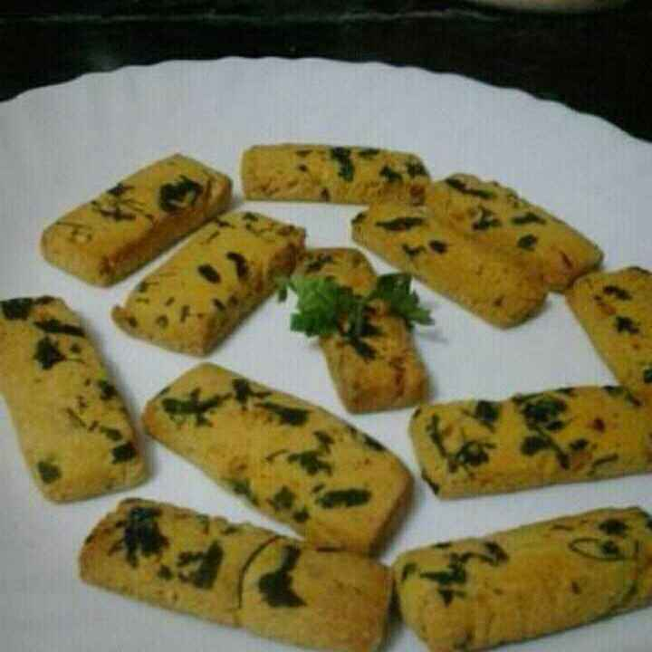 How to make Curry Leaf Cookies.