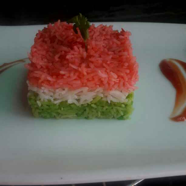Photo of Tricolour Rice   by Simran Chhabra at BetterButter