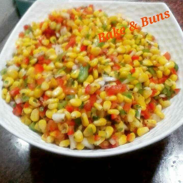 How to make Colorful Corn Salad