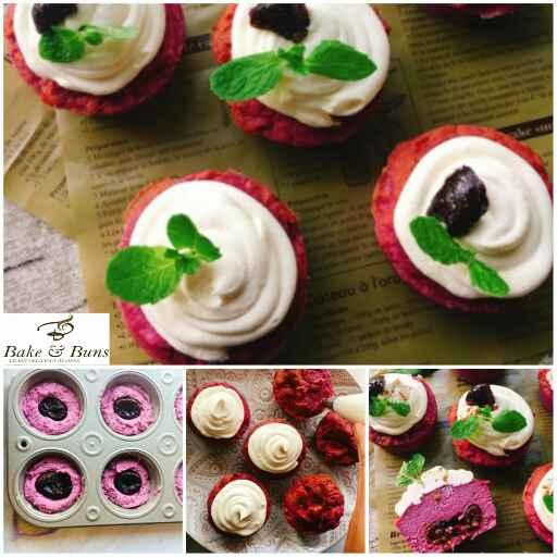 How to make Sugar free Purple yogurt cup cake