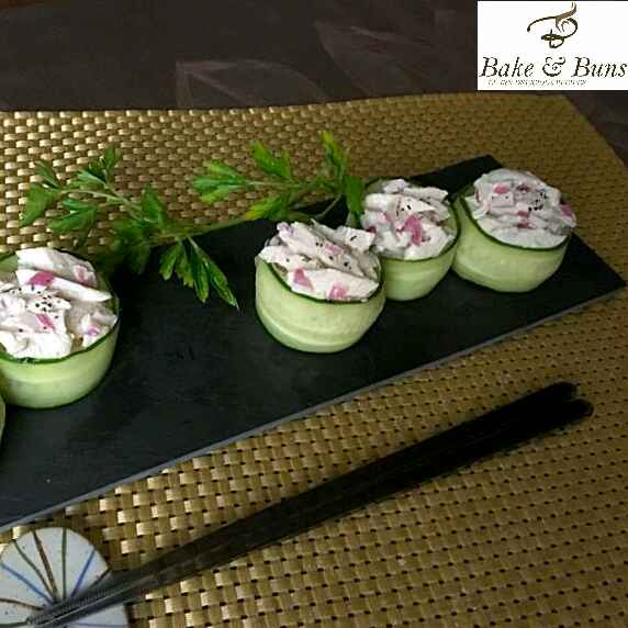 How to make salad sushi
