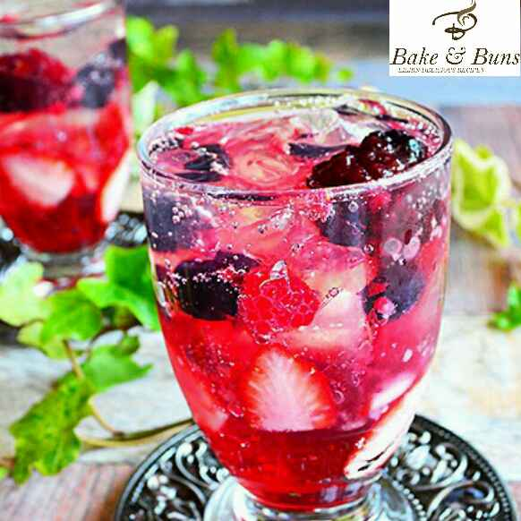 Photo of Berry red wine Cocktail by SIMRAN GUPTA at BetterButter