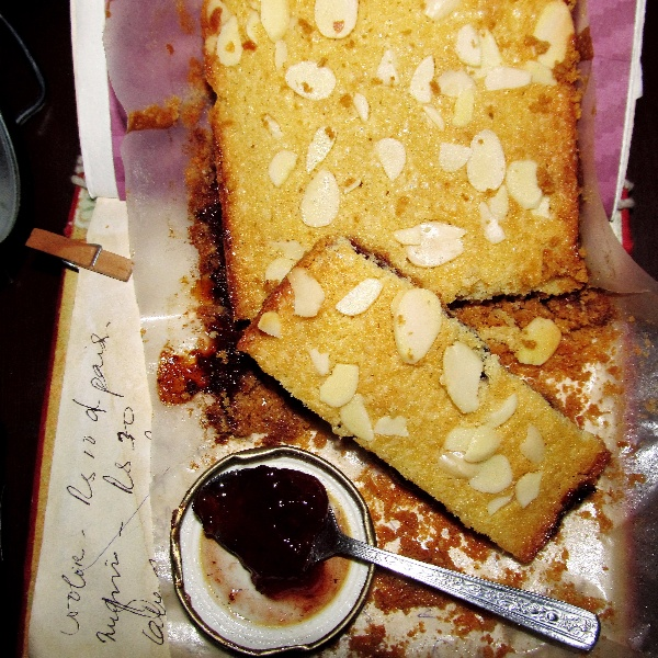 Photo of Deconstructed Bakewell Tart - With a Whole Wheat Oats Almond Crust by Simran Oberoi Multani at BetterButter