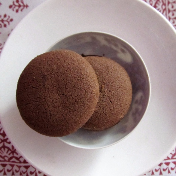 Photo of Eggless Wholewheat Chocolate Shortbread Butter Biscuits by Simran Oberoi Multani at BetterButter