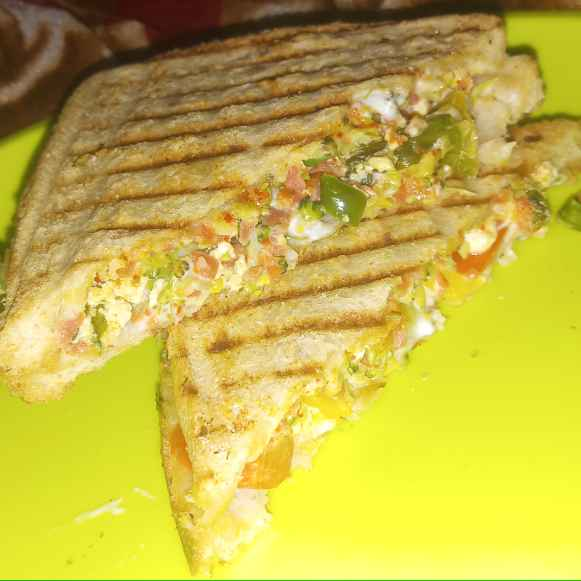 Photo of Grilled Vegetable Sandwich by Simrat Kaur at BetterButter