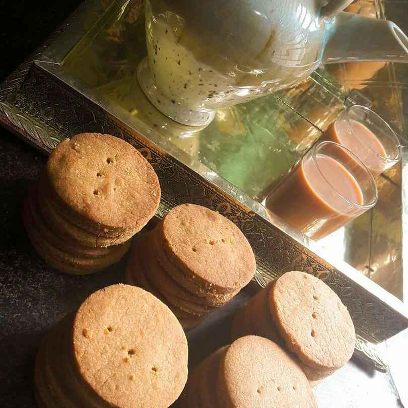 How to make Tea Kadhai Biscuits (Healthy Version)