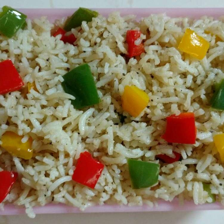Photo of Bell pepper Pulao/Capsicum Pulao by Sivasakthi Murali at BetterButter
