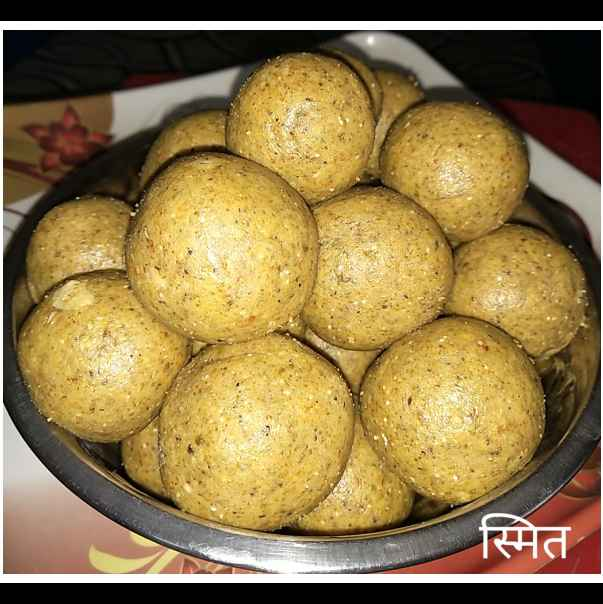 Photo of Green Mung & Sweetcorn Laddu by स्मित शिवदास at BetterButter
