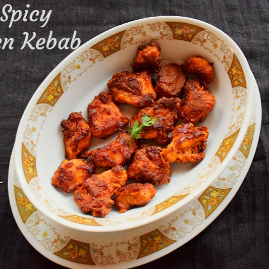 How to make Hot and Spicy Chicken Kebab