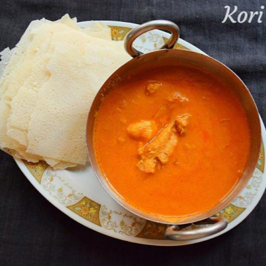 How to make Mangalorean Chicken Curry | Kori rotti chicken curry