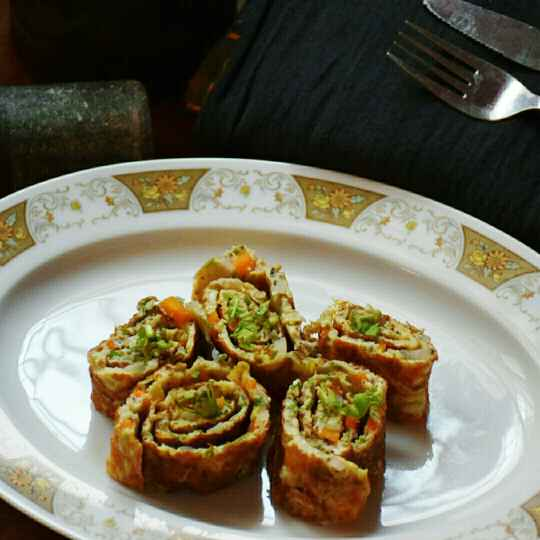 How to make Protein packed Egg roll