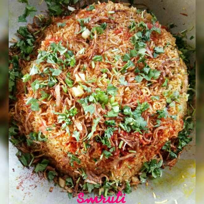 Photo of Vegetable Biryani by Smruti Rana at BetterButter