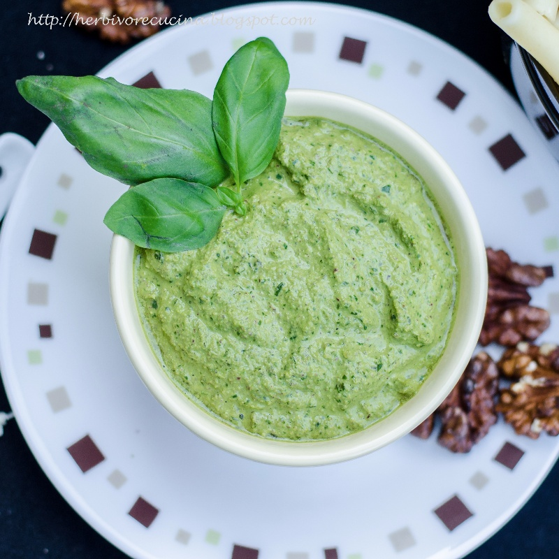 How to make Walnut Basil Pesto
