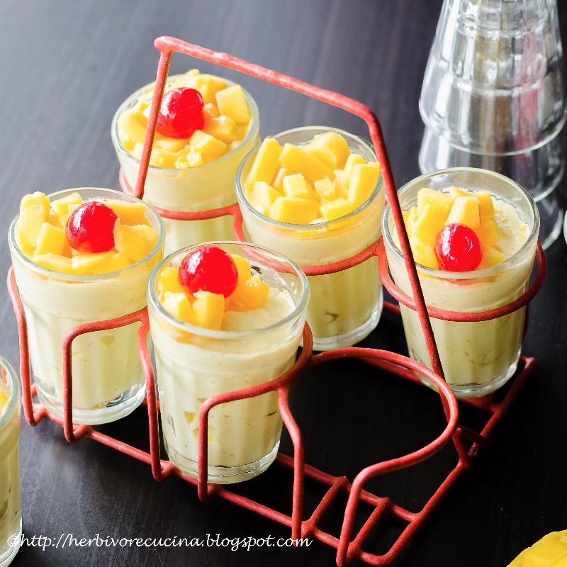 Photo of Eggless Mango Mousse by Smruti Shah at BetterButter