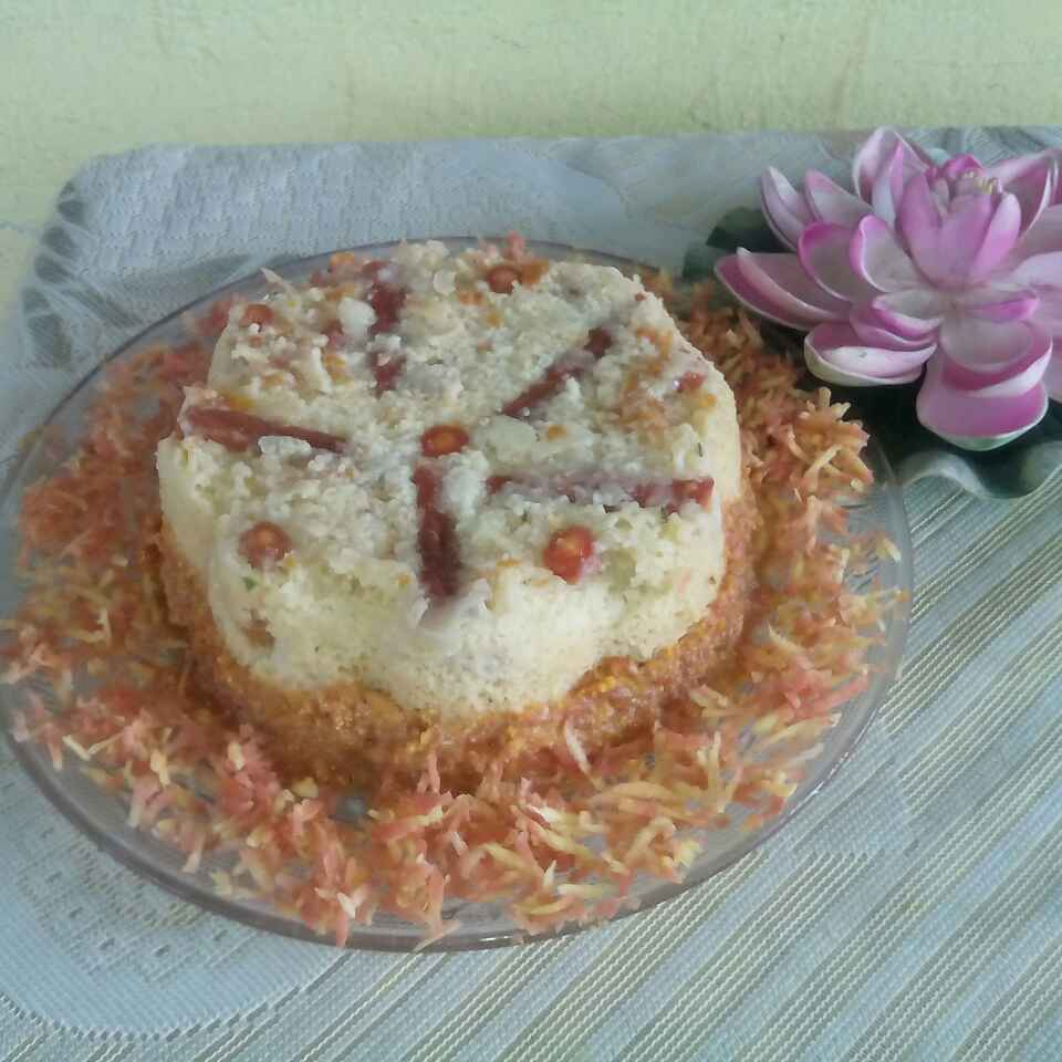 Photo of Gajar ka cake by Smt Veena Saraf at BetterButter