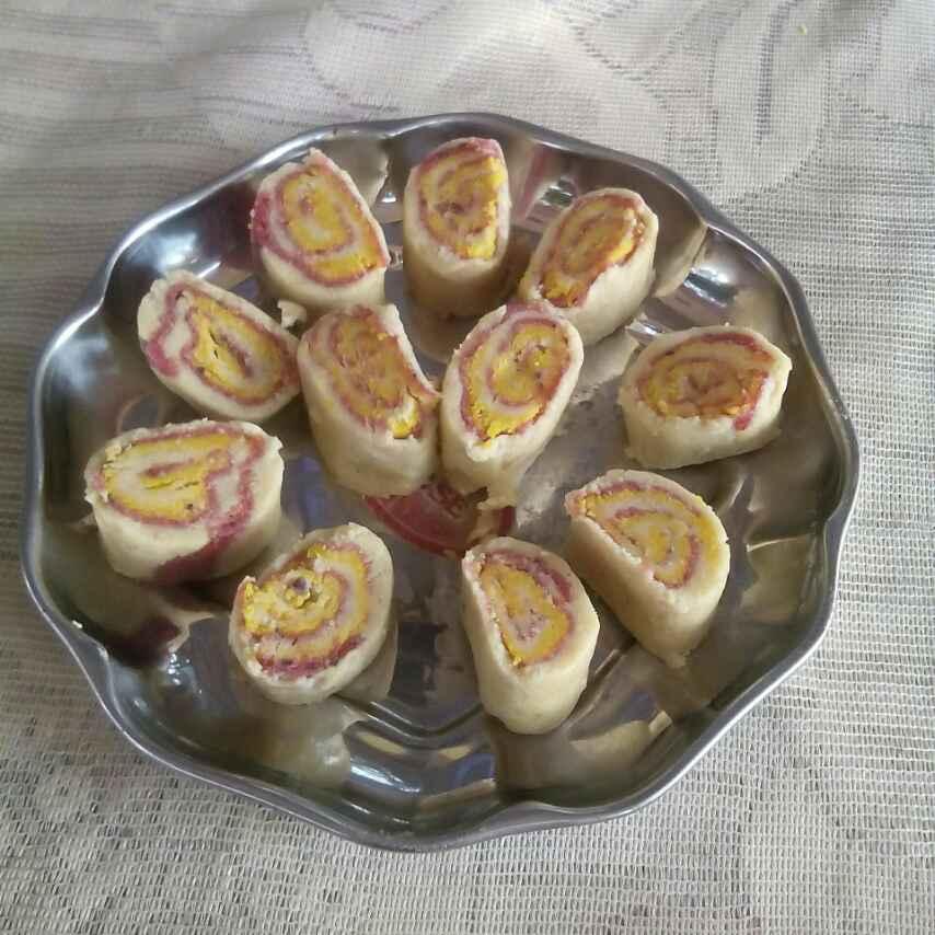 How to make बटर और काजू के रोल
