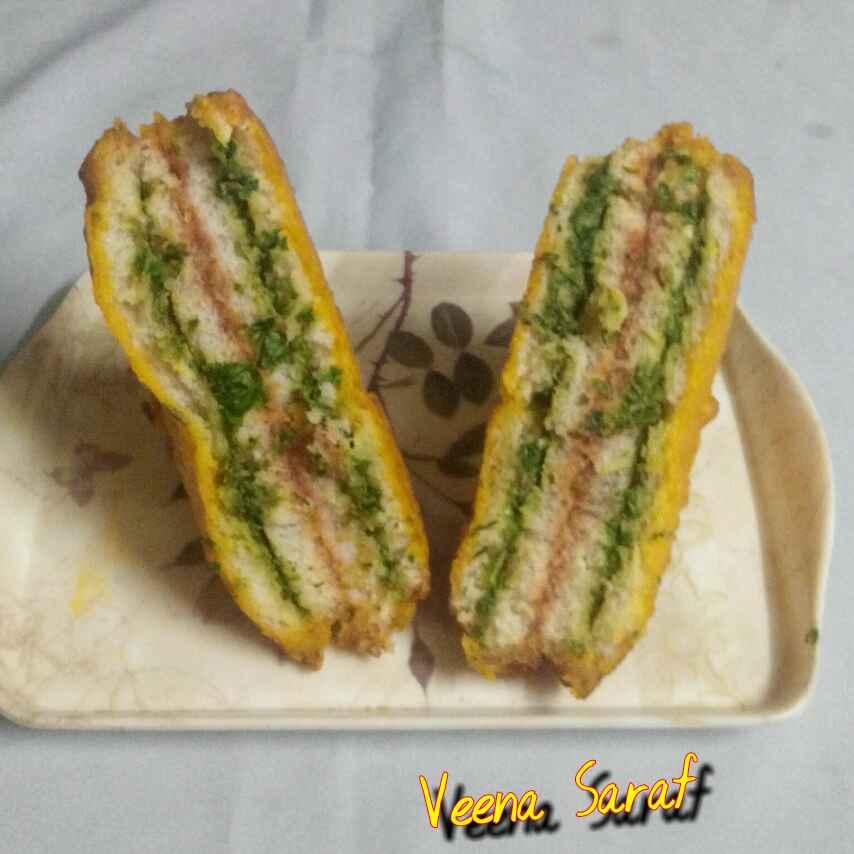 Photo of Tiranga sandwich by Smt Veena Saraf at BetterButter