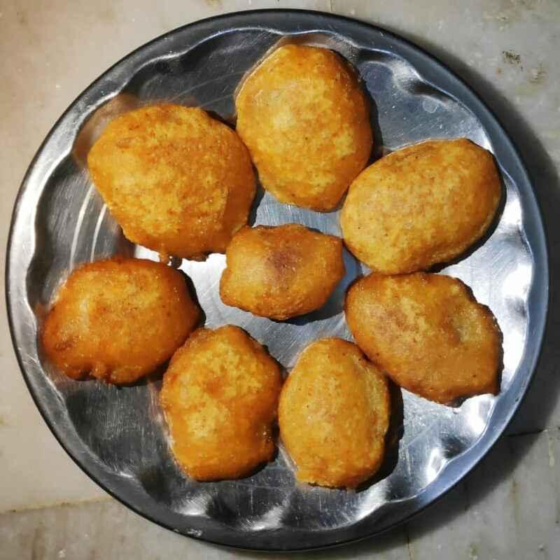 How to make ఆలూ  బజ్జి