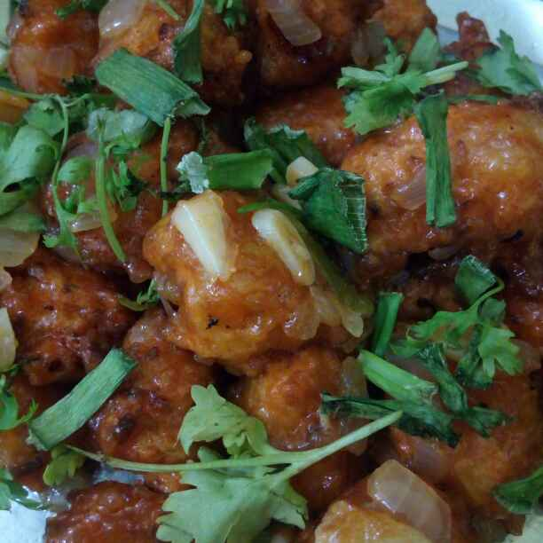 Photo of Vegetable manchuriya by sneha gilla at BetterButter