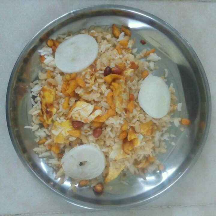 Photo of Egg poha fried rice by sneha gilla at BetterButter