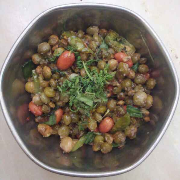Photo of Pigeon peas chat/fry by sneha gilla at BetterButter
